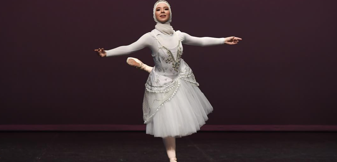 World's First 'Hijabi Ballerina' Is Forging a Path for Dancers from Diverse Backgrounds